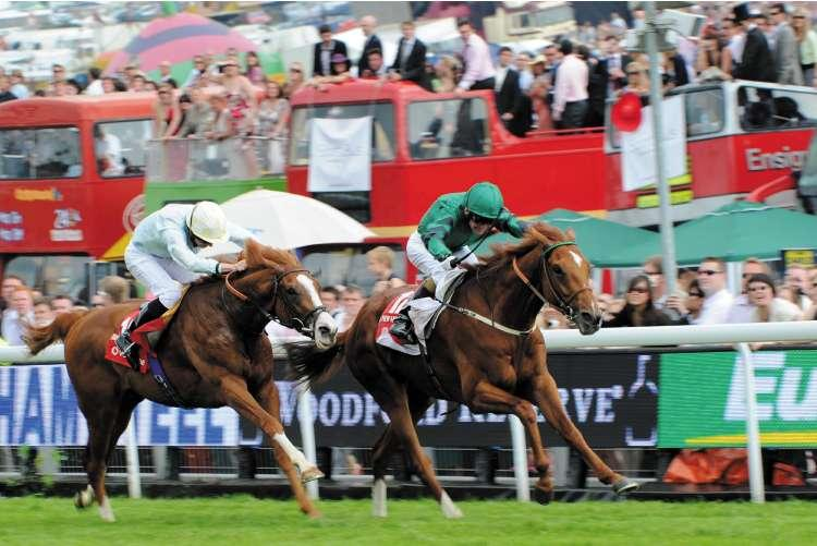 New Approach won the Derby (above) but he is doubtful for today's Irish version