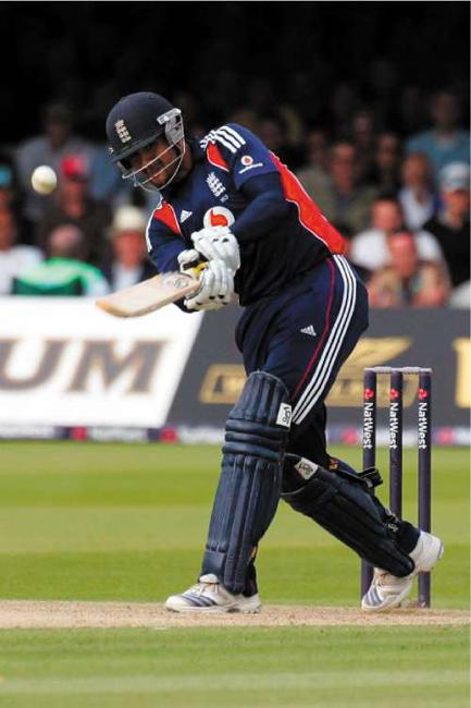 Owais Shah was consistent with the bat for England during the series