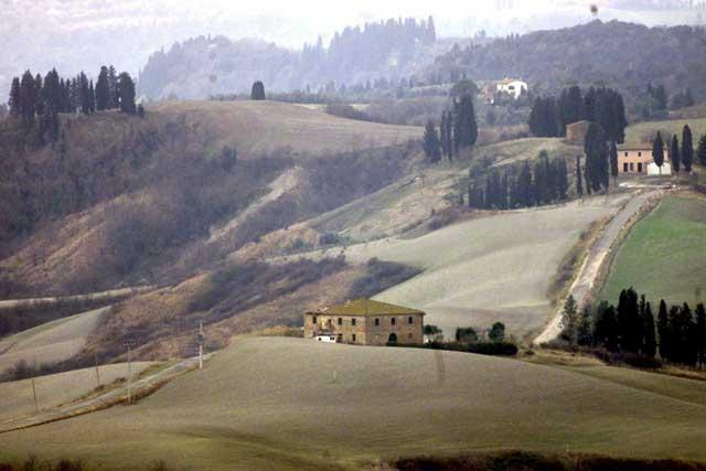 Wedded bliss: the rolling hils of Tuscany are a romantic honeymoon setting