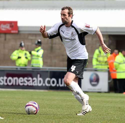 Don Hutchison of Luton Town in action last season