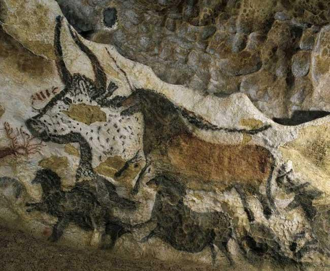 Experts believe that up to half of the prehistoric art in the Lascaux caves is at risk. Efforts to combat a fungal invasion have been unsuccessful