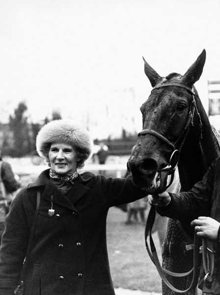 Dickinson with the top-class chaser Wayward Lad