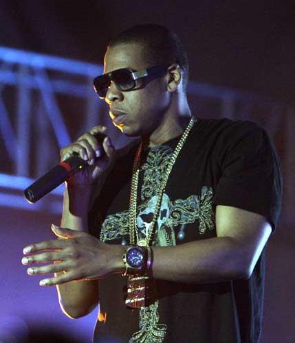 Jay-Z's success may have originated in the studio, but he has learnt how to deliver a professional live show with a skilled ensemble of musicians