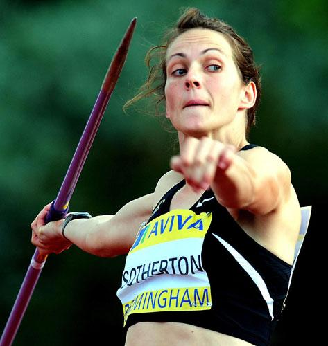 'I'm not afraid to put myself on the line,' says Kelly Sotherton of her attempts to improve in the javelin, her weakest discipline. 'I've got to be able to throw something decent in Beijing'
