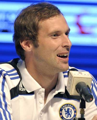 Petr Cech signed for Chelsea from Rennes in 2004