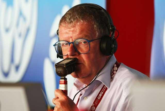 John Motson: effusive, chatty, and knowledgeable