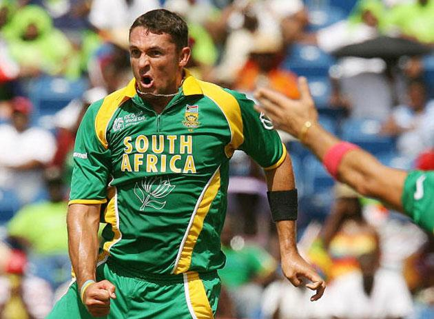 Andre Nel at full throttle. 'Andre has got much better of late in learning how to channel his aggression in the right direction,' says Mickey Arthur, the coach of South Africa