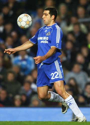 Haim moved to Chelsea on a free transfer but struggled to hold down a place in the first team