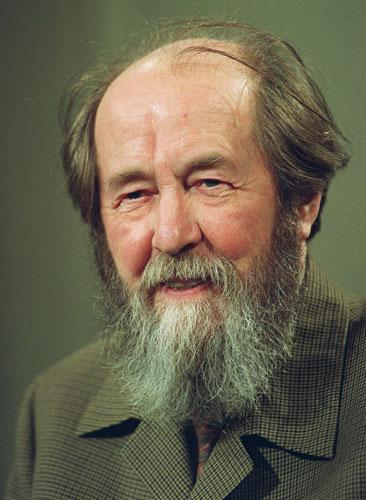 Solzhenitsyn: his release from jail coincided with Stalin's death