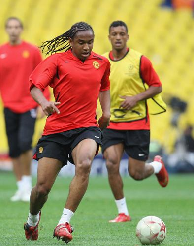 Anderson (centre) and Nani (right) are expected to show significant improvement on last season