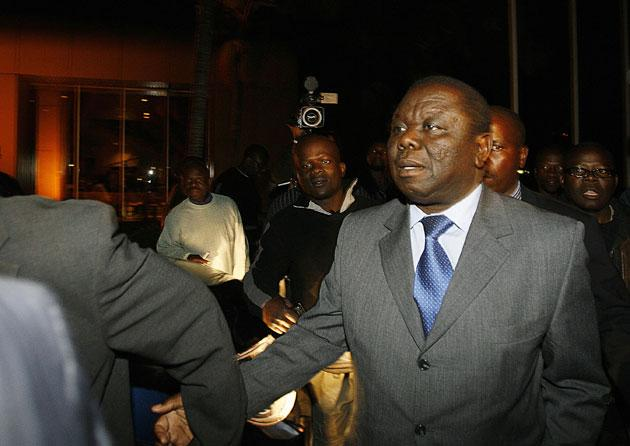 Morgan Tsvangirai walked out of talks late Tuesday night after Thabo Mbeki, tried to push him into an agreement