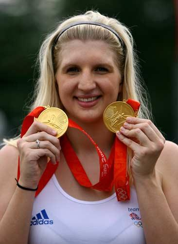 Double gold winner Adlington will celebrate with a trip to McDonalds