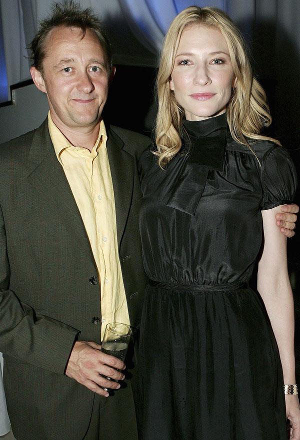 Partnership of equals: Andrew Upton and his wife Cate Blanchett