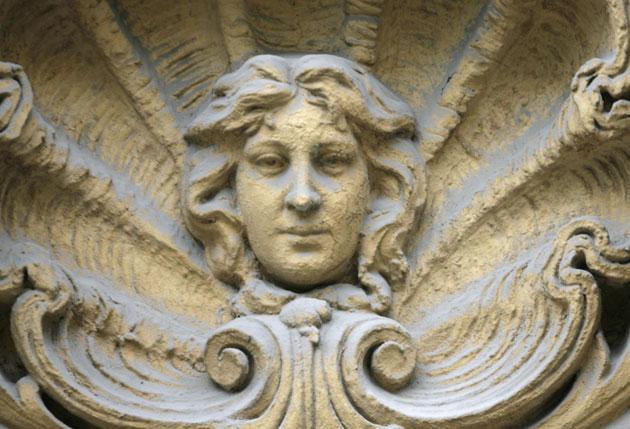Baltic belle: Art Nouveau detail