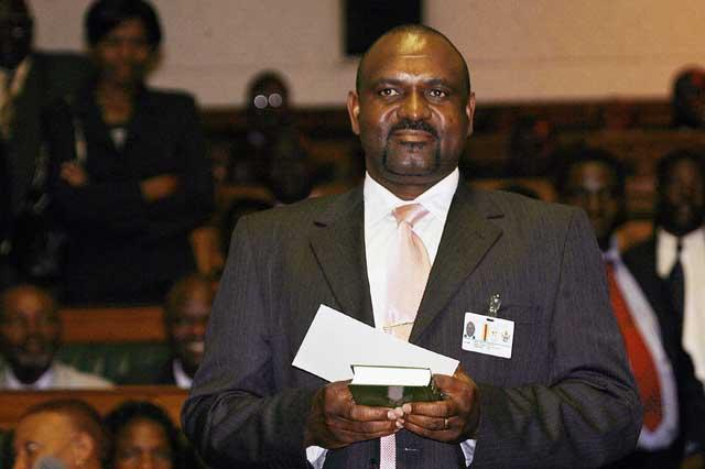 Lovemore Moyo: Carried vote despite arrest of two MDC MPs