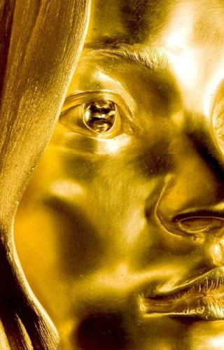 This solid gold sculpture of Kate Moss will go on display at the British Museum in London on 4 October