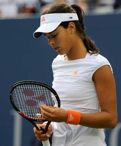 Ana Ivanovic was knocked out by Julie Coin, a 25-year-old Frenchwoman playing in her first Grand Slam tournament