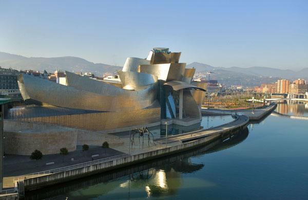 Port of plenty: the Guggenheim is one of many attractions awaiting ferry passengers on the 'Pride of Bilbao' from Portsmouth