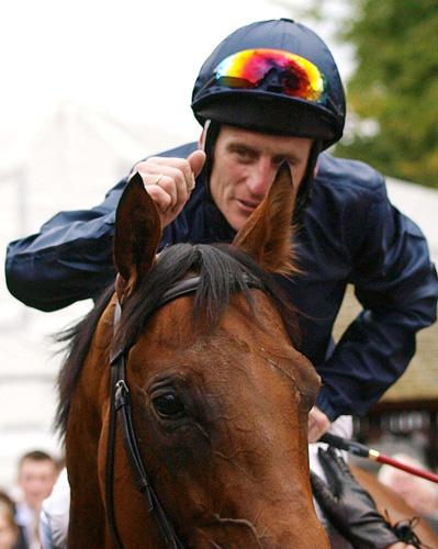 Johnny Murtagh with Duke Of Marmalade following their big Newmarket victory 11 days ago