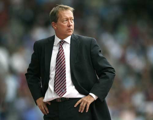 Fans at West Ham have been unhappy with Curbishley's reign at the club