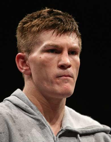 Hatton is preparing for his fight against IBF light-welterweight champion Paulie Malignaggi