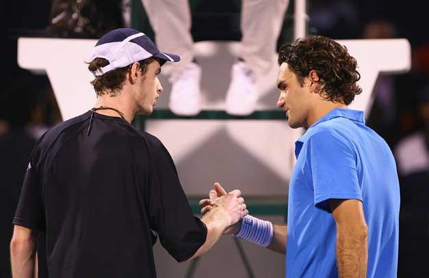 Murray has beaten Federer twice in the past