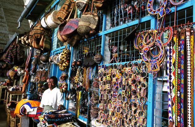 Into Africa: City market in Nairobi