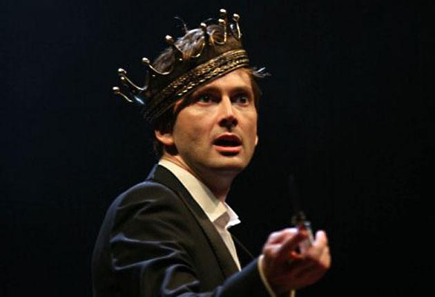 Prince of the London stage: Tennant's 'extremely captivating' Hamlet