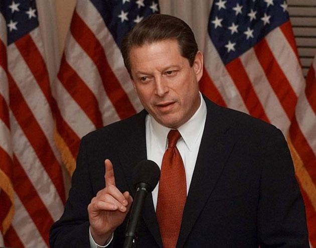 Al Gore showed his aggravation with the misleading answers given by George W Bush and the voters punished him for it