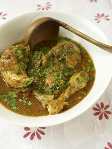 Fragrant chicken stew is a homely and lip-smacking dinner