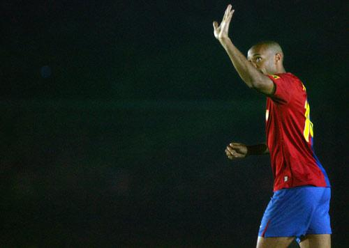 Henry will consider leaving Barcelona if he is not starting enough matches