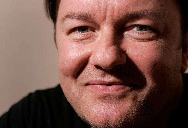 Last year, Time magazine named Ricky Gervais one of the 100 most powerful people in the world