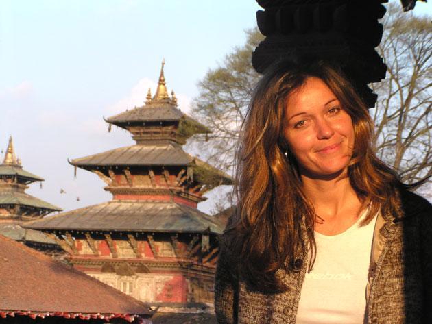 "Charlotte Uhlenbroek: ""I'm also a real history junkie so I love visiting ruins"""