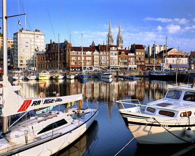 Coast of living: Ostend is a lively seaside resort