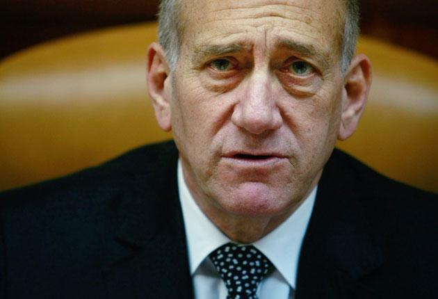 Ehud Olmert: Alternative to land deal 'is a bloody clash'