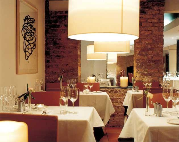 The Town Bar and Grill has a reputation as one of the grooviest restaurants in Dublin