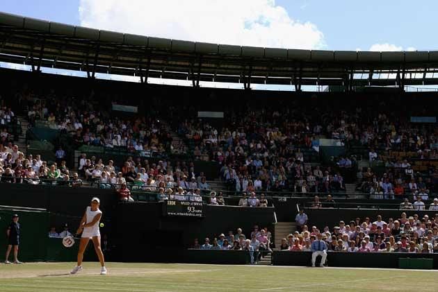 A huge crowd turned out at Wimbledon to watch Robson claim the juniors title