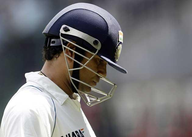 Sachin Tendulkar (above), Rahul Dravid, VVS Laxman and Sourav Ganguly have not looked convincing in the Test against Australia