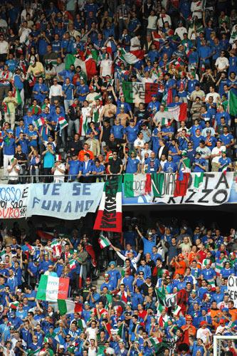 The move comes just a month after the Italian government announced measures to stamp out hooliganism