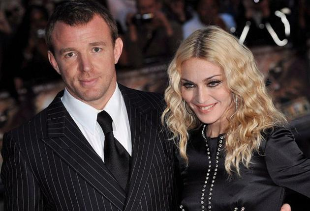 Speculation on the state of their relationship was already rife when Guy Ritchie and Madonna attended the world premiere of his new film, 'RocknRolla', in London in September