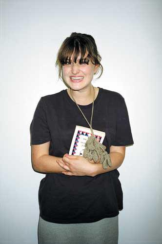 Artist and singer Joanne Robertson was nominated by Martin Creed