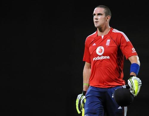 Pietersen top scored in last night's match with 44 runs