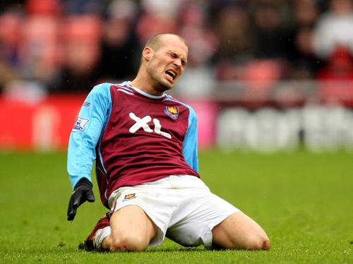 Ljungberg had a frustrating time with injuries while at West Ham