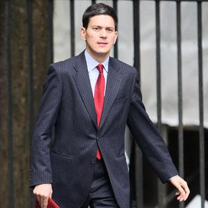 Foreign Secretary David Miliband was flying to the Democratic Republic of Congo today