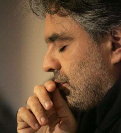 Top dollar: Andrea Bocelli is popular with the public, but dismissed by critics