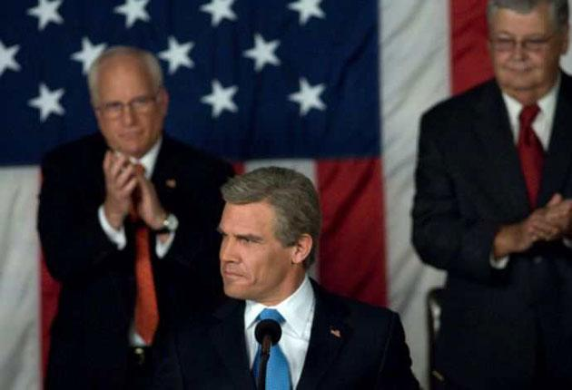 Bush Stoned: George W (Josh Brolin) is portrayed as an aggrieved eternal adolescent in this Freudian drama from Oliver Stone