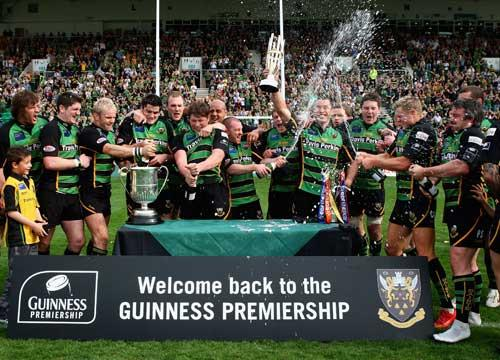 Northampton Saints won promotion back to the Premiership last season, but the right to play in the top tier will be won through a play-off system in the new Championship