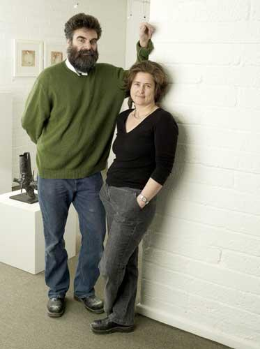 Husband-and-wife team Rungwe Kingdon and Claude Koenig are responsible for some of the world's greatest works of art