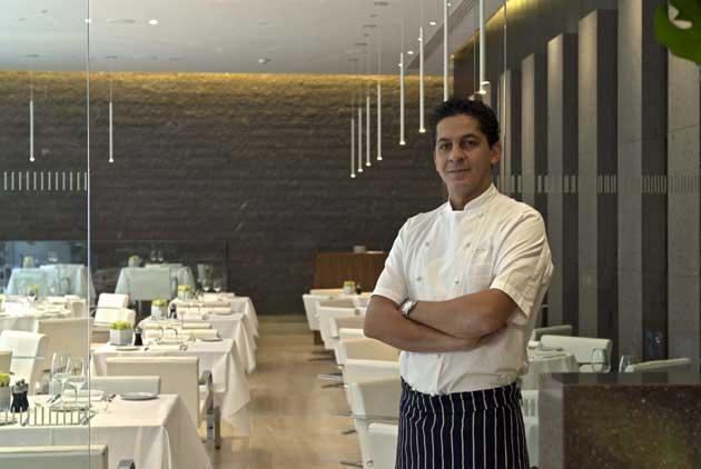 Chef/owner Francesco Mazzei says: 'My style of contemporary Italian cuisine is unique to the City, and perhaps London'