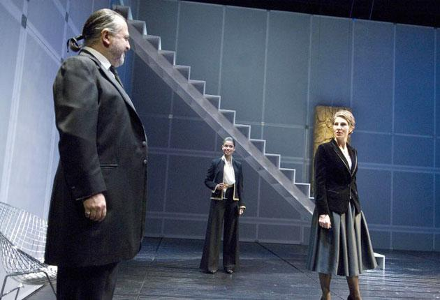 Face to face: 'Gethsemane' offers menacing drama with sardonic humour